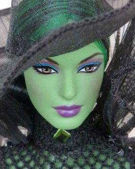 2014 Fantasy Glamour Wicked Witch of the West, Elphaba #BCR04